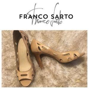 Fransco Sarto ( Koala) Peep Toe Heels